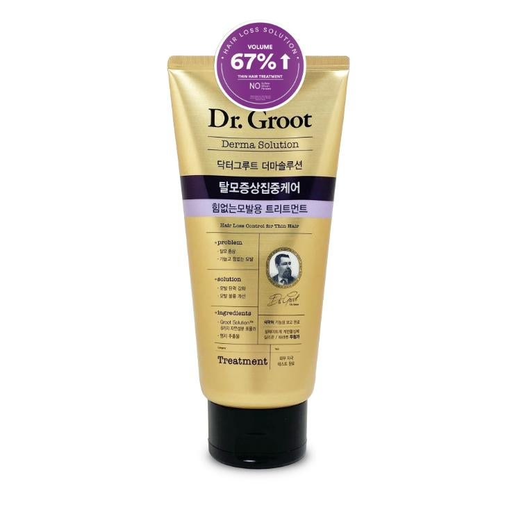 Dr. Groot Hair Loss Control Treatment For Thin Hair 300ml - Guardian Online  Malaysia